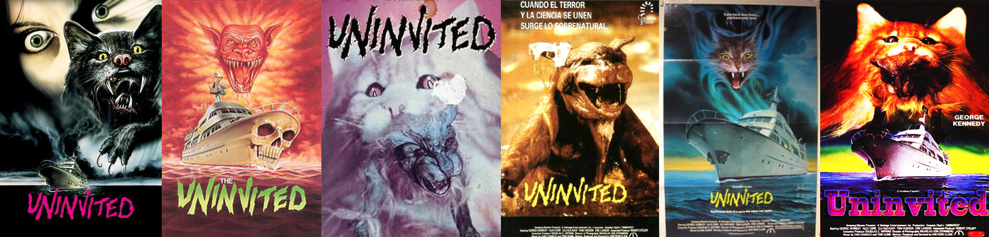 Uninvited (1988) Posters