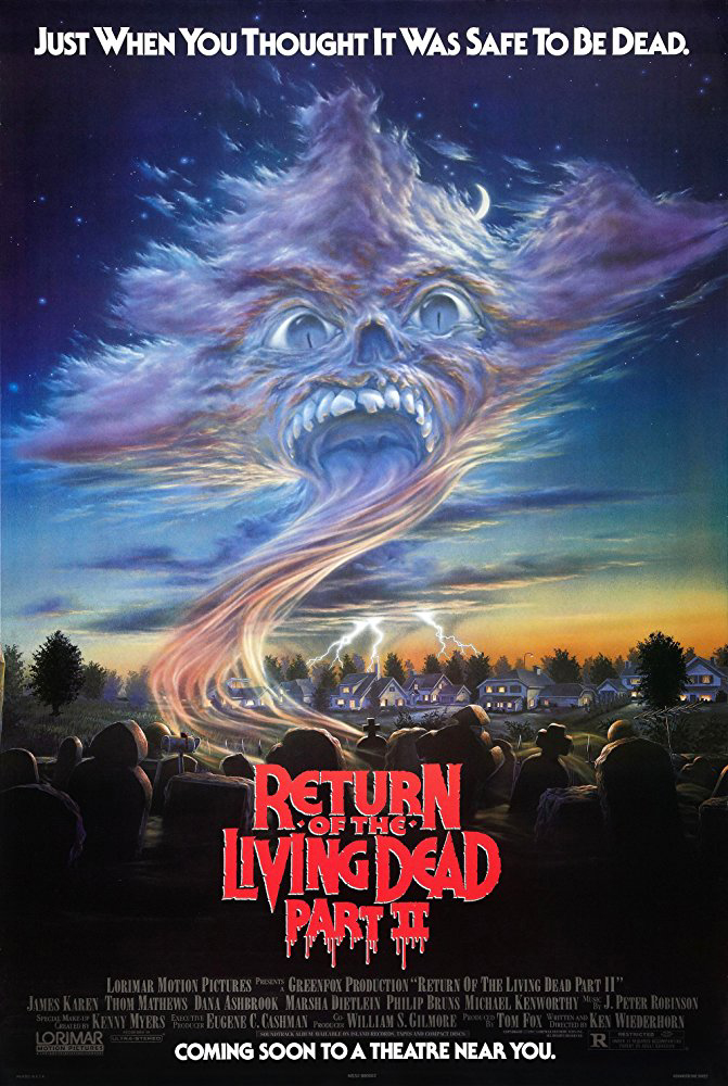 Return of the Living Dead II (1988) Poster