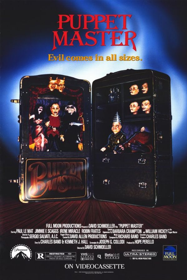 Puppetmaster (1989) Poster