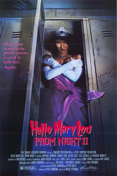 Prom Night II (1987) Poster