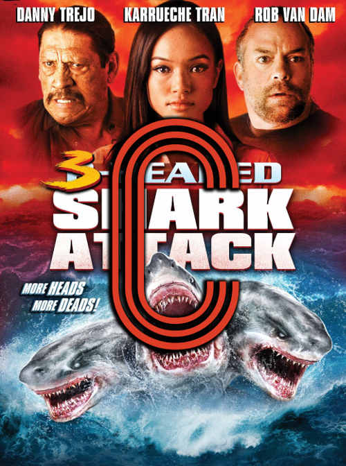 3-Headed Shark Attack (2015) Review Poster