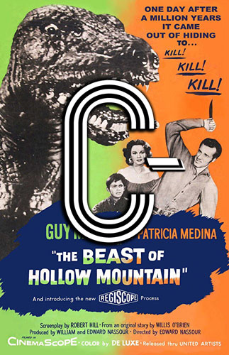 The Beast of Hollow Mountain (1956) Review Poster