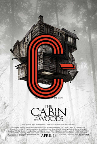 The Cabin in the Woods (2012) Review Poster