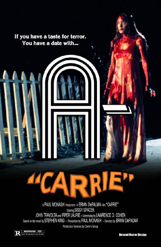 Carrie (1976) Review Poster