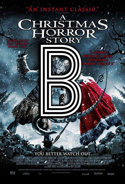 A Christmas Horror Story (2015) Review Poster