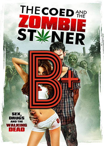 The Coed and the Zombie Stoner (2014) Review Poster