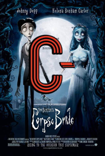 Corpse Bride (2005) Review Poster