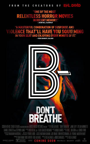 Don't Breathe (2016) Review Poster