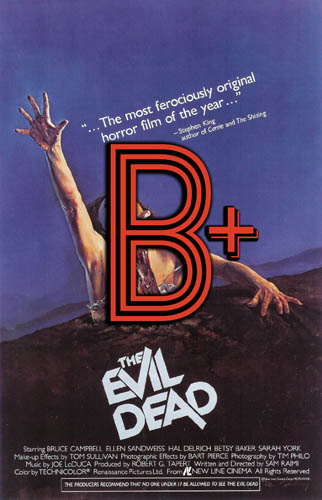 The Evil Dead (1981) Review Poster