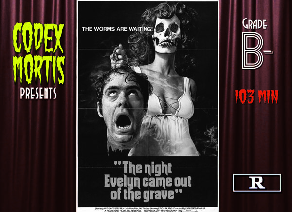 The Night Evelyn Came Out of the Grave (1971) Review: Bizarre with Boobs