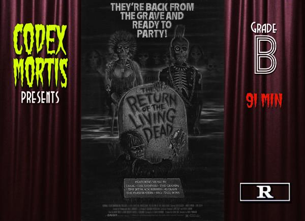 The Return of the Living Dead (1985) Review: Naked Mayhem