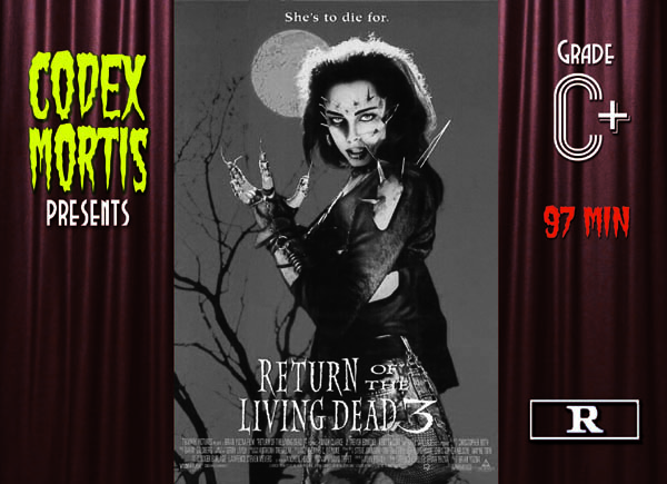 Return of the Living Dead III (1993) Review: Romeo & Zombiet