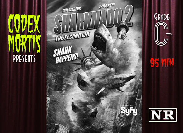 Sharknado 2 (2014) Review: Doubly Disappointing