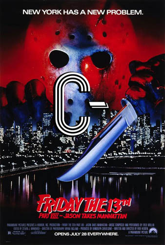 Friday the 13th Part VIII: Jason Takes Manhattan (1989) Review Poster