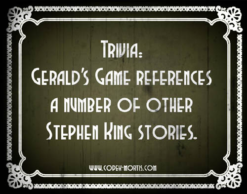 Did You Know 1: Gerald's Game (2017)