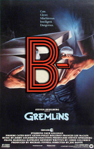 Gremlins (1984) Review Poster
