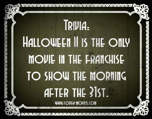 Did You Know 3: Halloween II (1981)
