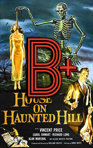 House on Haunted Hill (1959) Review Poster
