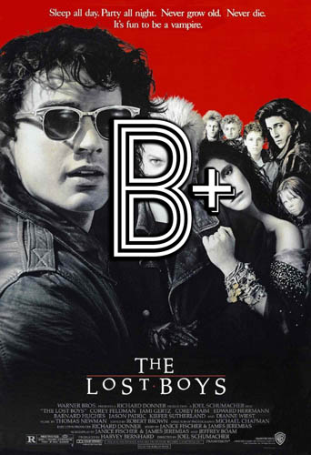 The Lost Boys (1987) Review Poster