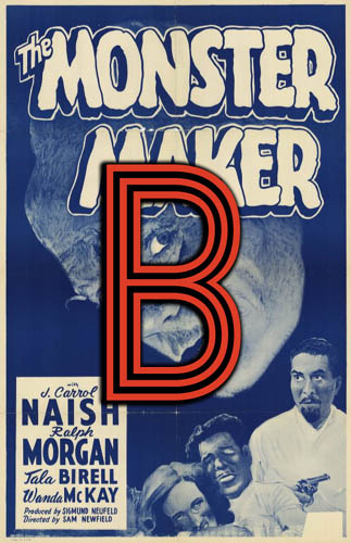 The Monster Maker (1944) Review Poster