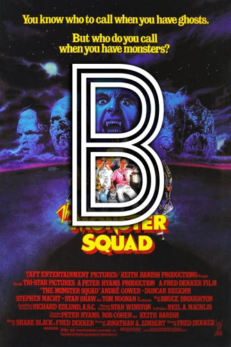 The Monster Squad (1987) Review Poster
