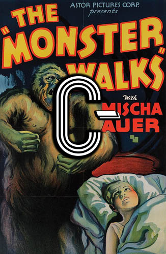 The Monster Walks (1932) Review Poster