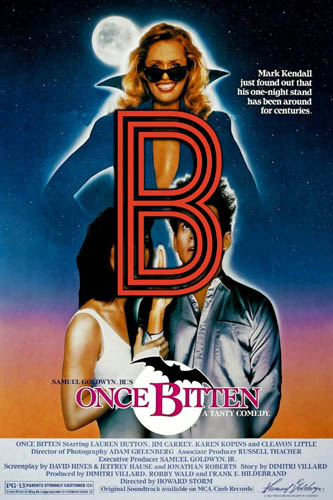 Once Bitten (1985) Review Poster