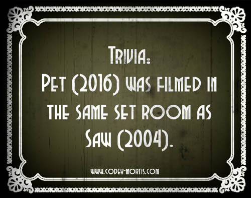 Did You Know 2: Pet (2016)