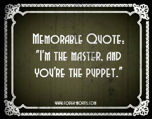 Did You Know 3: Puppetmaster (1989)