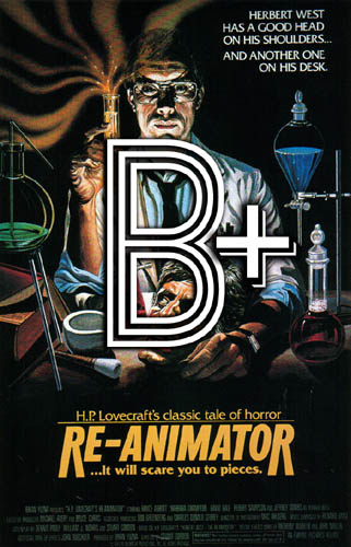Re-Animator (1985) Review Poster