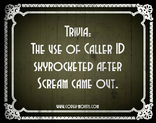 Did You Know 3: Scream (1996)