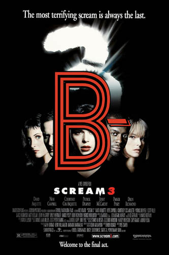 Scream 3 (2000) Review Poster