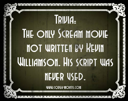 Did You Know 2: Scream 3 (2000)