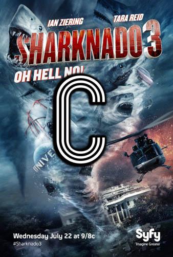 Sharknado 3 (2015) Review Poster