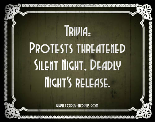 Did You Know 2: Silent Night Deadly Night (1984)