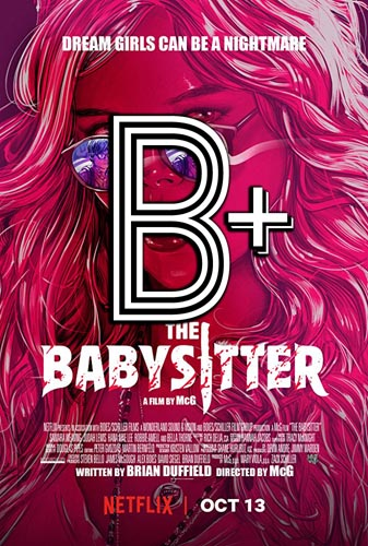 The Babysitter (2017) Review Poster