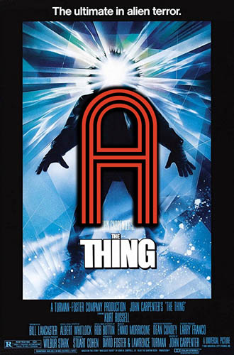 The Thing (1982) Review Poster