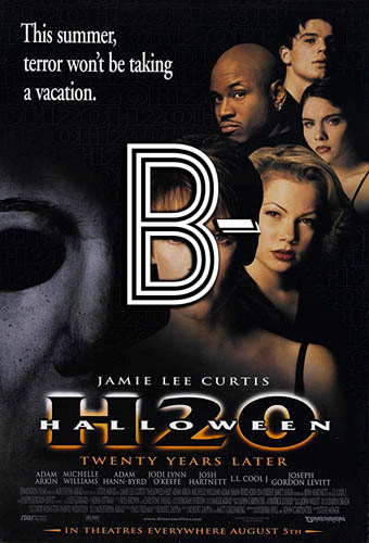 Halloween H20 (1998) Review Poster