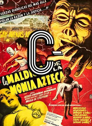 La maldición de la momia azteca (1957) Review Poster