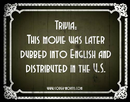 Did You Know 3: La maldición de la momia azteca (1957)