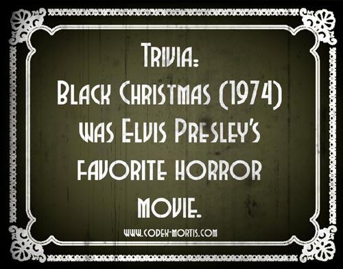 Did You Know 1: Black Christmas (1974)