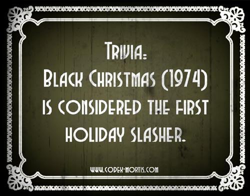 Did You Know 3: Black Christmas (1974)