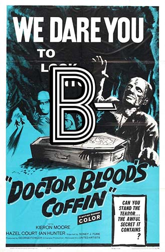 Dr. Blood's Coffin (1961) Review Poster