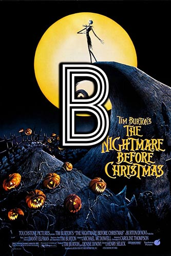 The Nightmare Before Christmas (1993) Review Poster