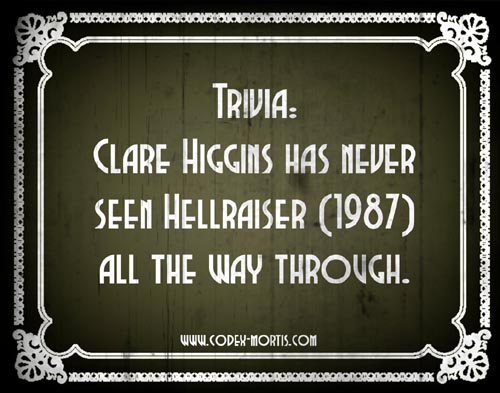 Did You Know: Hellraiser (1987)