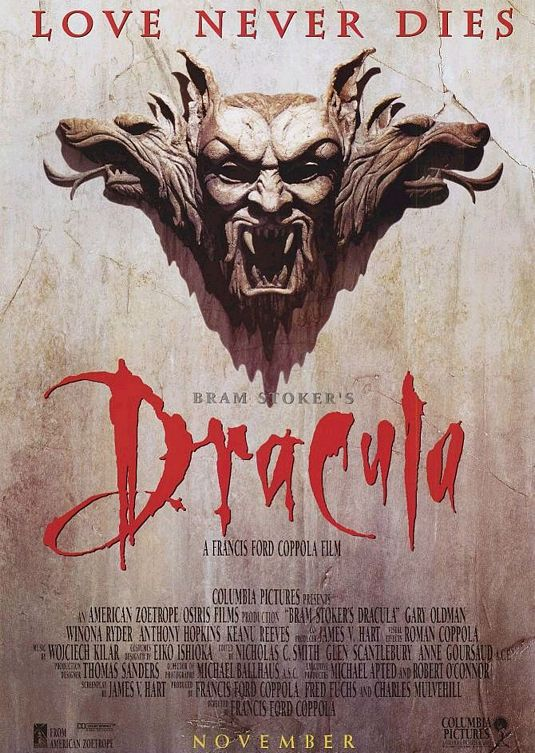 Bram Stoker's Dracula (1992) Drinking Game!